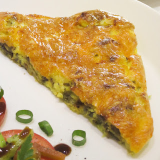Red Onion and Cheddar Frittata.