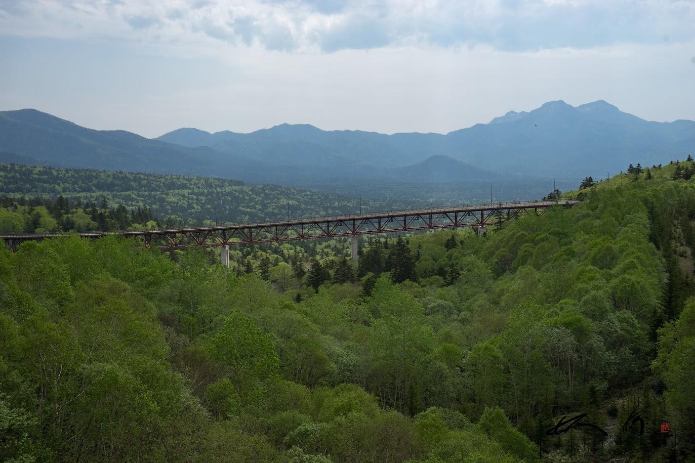 松見大橋の巨大アーチ