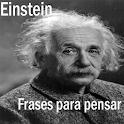 Einstein frases para pensar icon