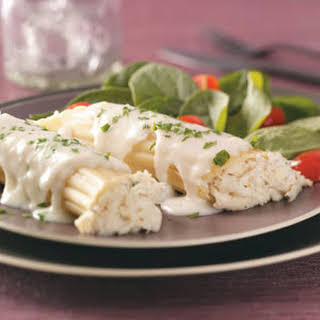 Crab-Stuffed Manicotti.