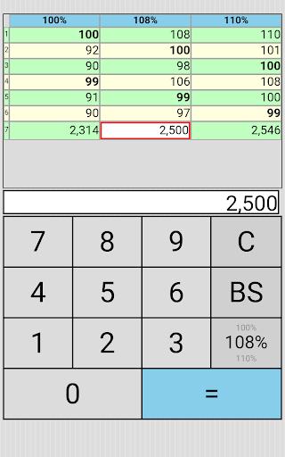 Percent Ratio Tax Multi Calc 1.2.5 Windows u7528 6