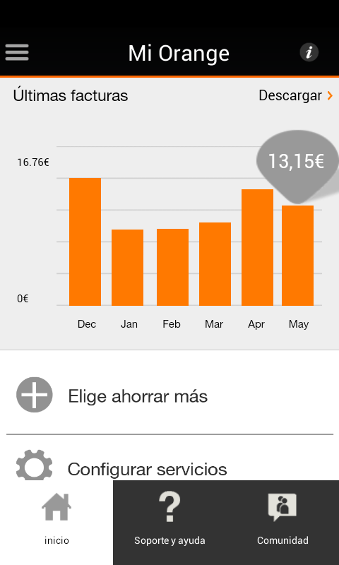 Mi Orange- screenshot