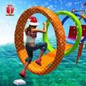 New Water Stuntman Run 2020: Water Park Free Games icon