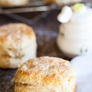 Cinnamon Biscuits with Honey Butter.