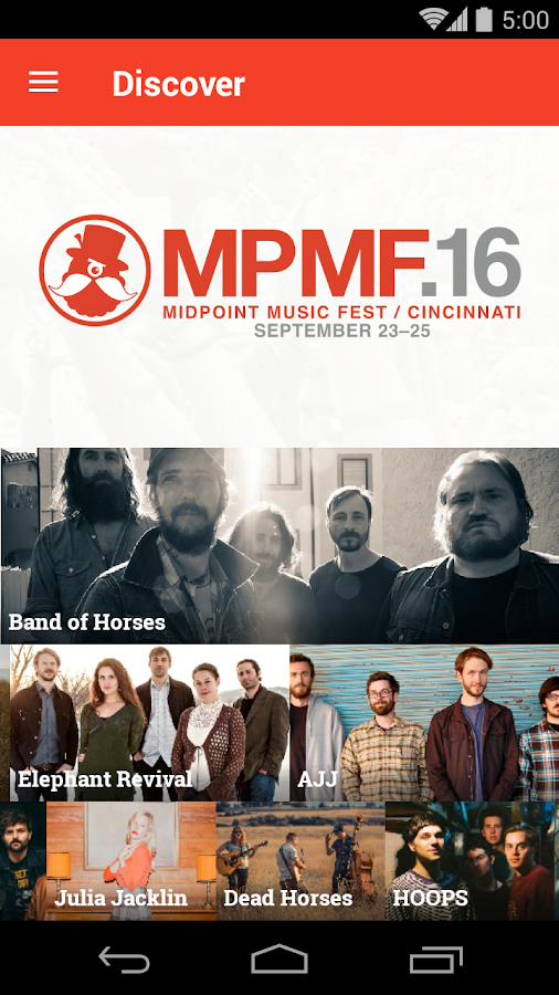 MidPoint Music Festival- screenshot