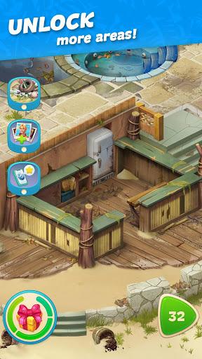 Hawaii Match-3 Mania Home Design & Matching Puzzle screenshot 5