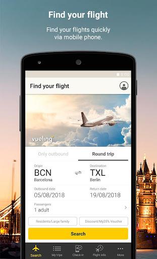 Vueling - Cheap Flights 10.8.0 screenshots 1