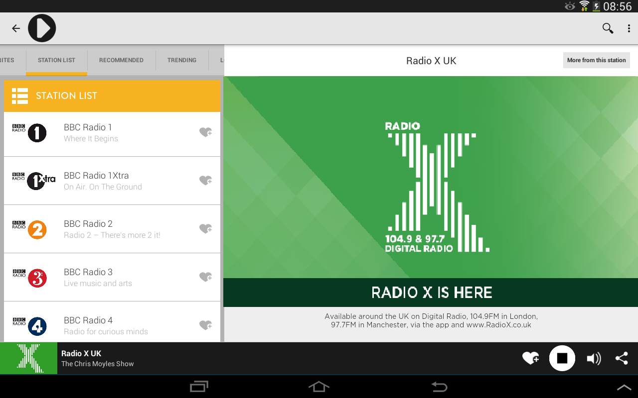 Radioplayer - Free UK Radio- screenshot