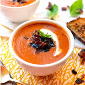 20-Minute Tomato Bisque Soup