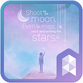 Dreaming Sky Launcher theme