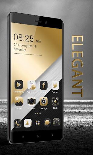 Elegant GO Launcher Theme