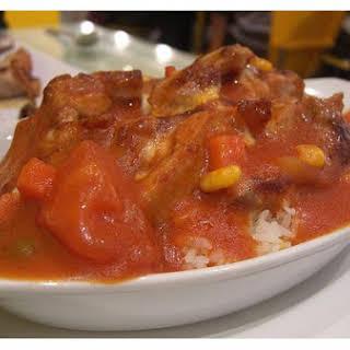 Seafood Wok With Rice.