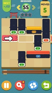 Push Sushi MOD (Unlimited Coins) 3