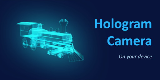 3D Train Hologram