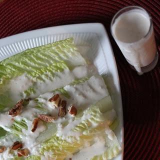 Roasted Garlic and Buttermilk Salad Dressing.