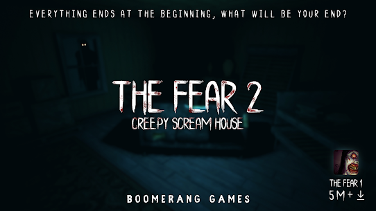 The Fear 2 : Creepy Scream House Horror Game 2018 2.4.6 [Mod + APK] Android 1