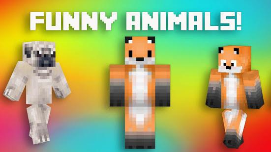 Tierhaute Fur MCPE Apps Bei Google Play - Minecraft mit tieren spielen