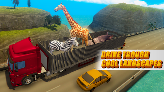 Zoo Animal Transport Truck 1