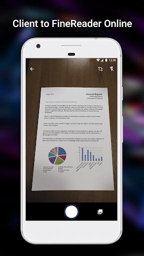 ABBYY FineReader client 1.1.0.5 screenshots 1