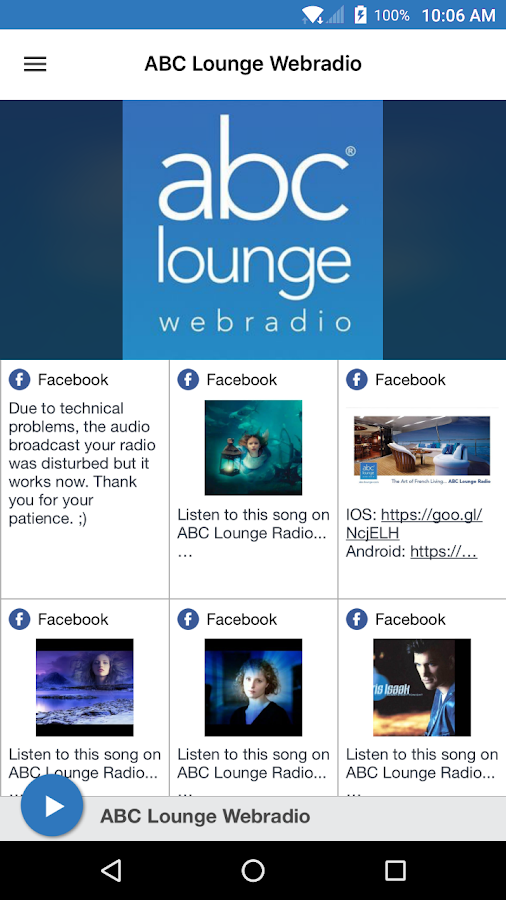 ABC Lounge Webradio- screenshot