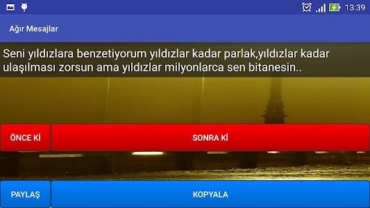 Ağır Mesajlar screenshot 9