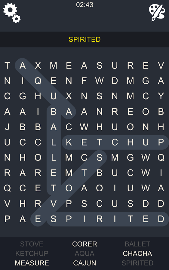 Word Search Epic- screenshot