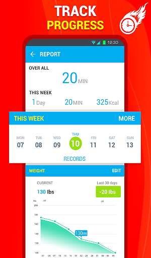 Six Pack Abs Workout 30 Day Fitness: HIIT Workouts 39.0 screenshots 19