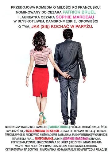 Tył ulotki filmu 'Seks, Miłość i Terapia'