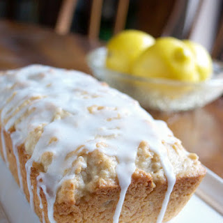 Dairy Free Coconut Lemon Bread.