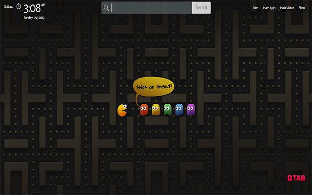 Pac-Man Wallpapers HD Theme