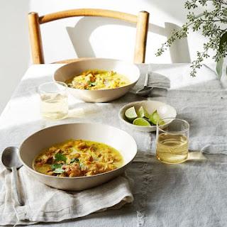 Burmese-Inspired Chicken Braised in Coconut Milk & Turmeric with Sweet Potato