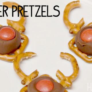 How To Make Reindeer Pretzel Candy