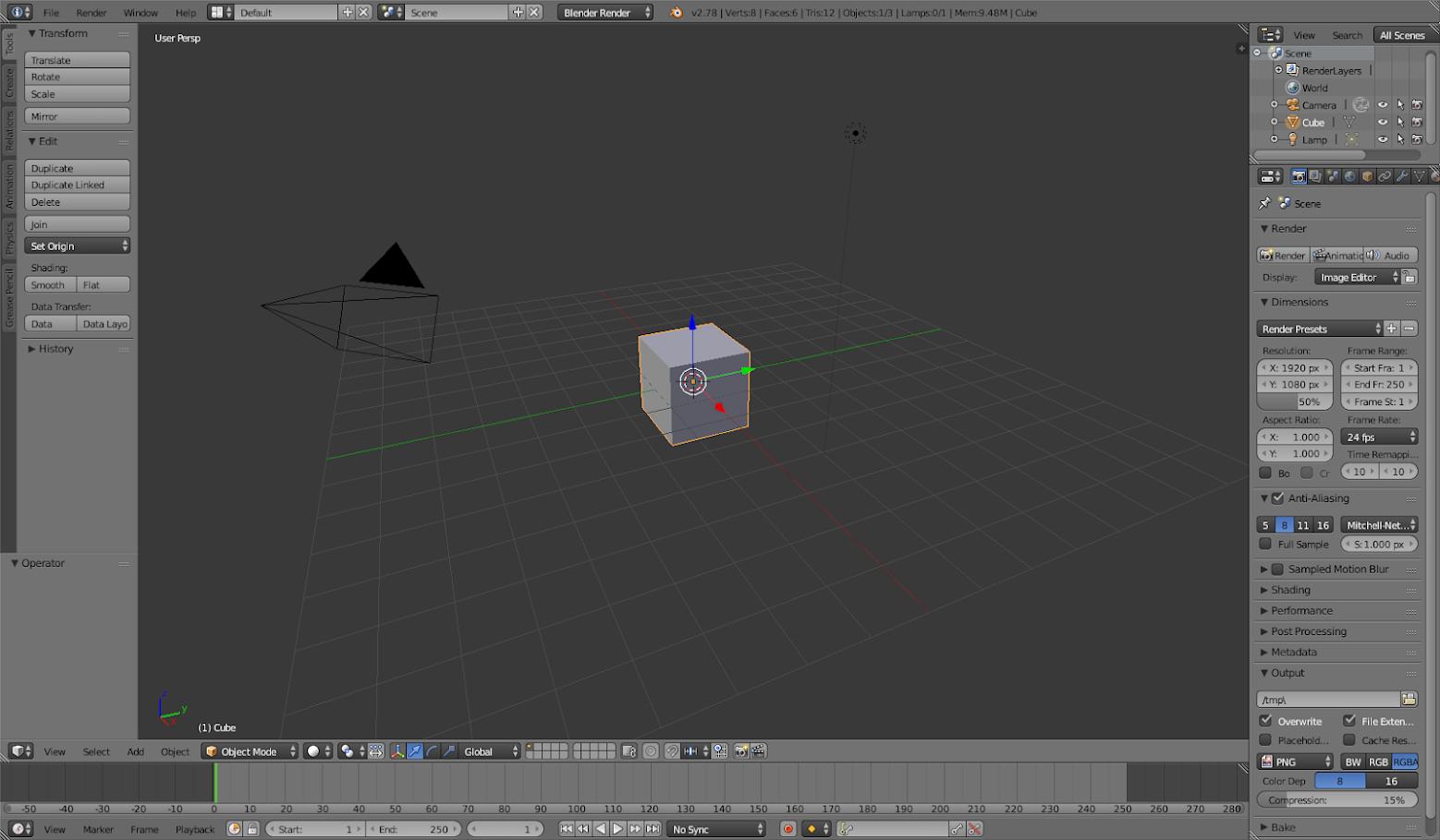 Delete cube