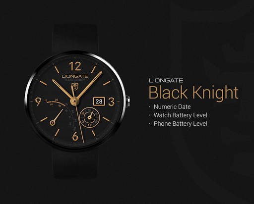 Black Knight watchface by Lion