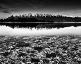 Photo: The Rocks in Queenstown  It's a very colorful place here... but I felt like a little black and white action! :) B&W is good for HDR too... Here's an article I wrote about HDR Black and White athttp://photofocus.com/2009/12/22/hdr-its-about-the-light/ -- on +Scott Bourne's website.