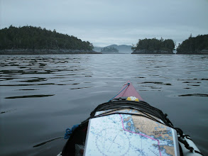 Photo: A pass through the Millar Islands.