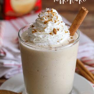 Eggnog Milkshakes