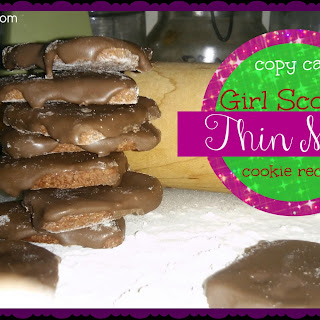 Copy Cat Girl Scout's Thin Mint Cookie Recipe!