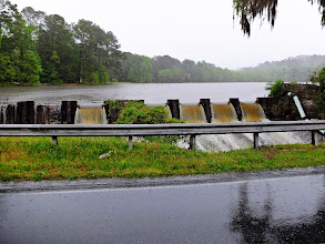 Photo: It's been dam wet around here for the past 24 hours.