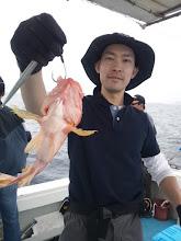 Photo: アラカブはよく釣れる。