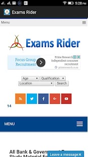 Exams Rider- screenshot thumbnail