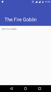 Horror Story : The Fire Goblin - náhled