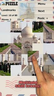 Famous Landmarks Puzzle - náhled