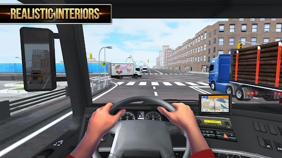 Euro Truck Simulator 2018 : Truckers Wanted- screenshot thumbnail