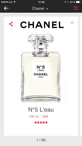 Perfumist Perfumes Advisor 3.0.3 screenshots 4