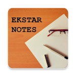Ekstar Notes Icon