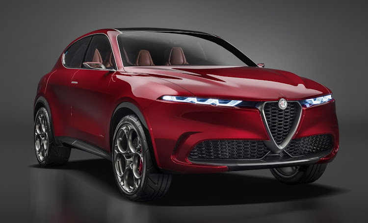 The soon to be launched Alfa Romeo Tonale.