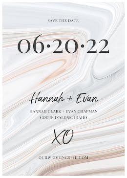 Hannah & Evan's Wedding - Save the Date item