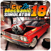 Download Game Car Mechanic Simulator 18 [Mod: Unlocked / a lot of money] APK Mod Free