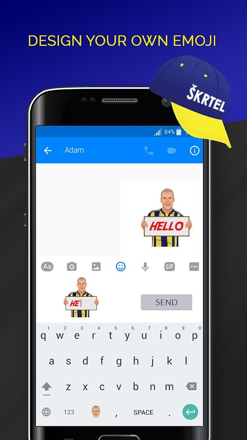 Skrtelmoji- screenshot